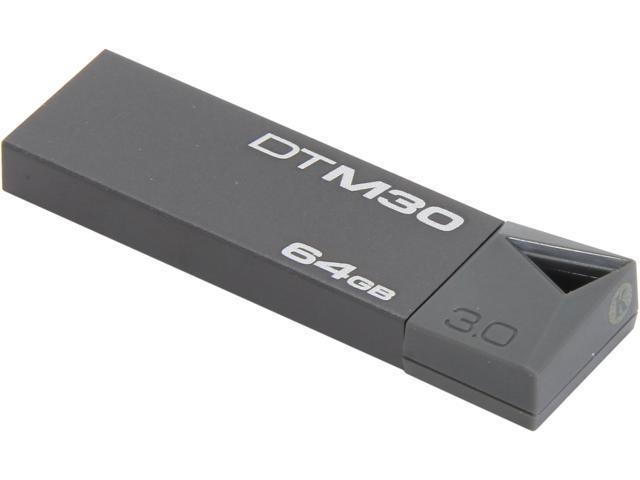 Kingston DataTraveler Mini 3.0 64GB USB 3.0 Flash Drive Model DTM30/64GB