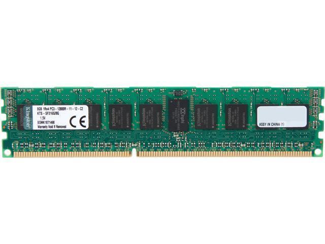 Kingston 8GB 240-Pin DDR3 SDRAM DDR3 1600 (PC3 12800) ECC Registered System Specific Memory Model KTS-SF316S/8G