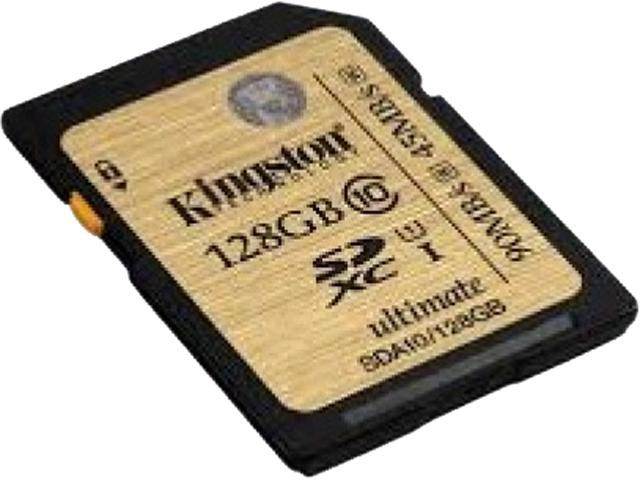 Kingston Ultimate 128 GB Secure Digital Extended Capacity (SDXC)