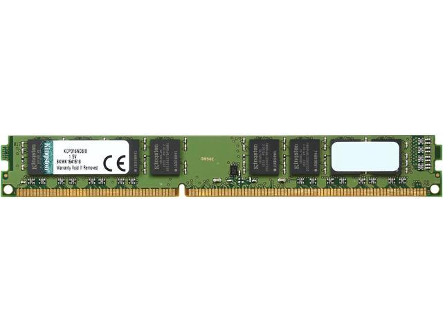 Kingston 8GB 240-Pin DDR3 SDRAM DDR3 1600 (PC3 12800) Desktop Memory Model KCP316ND8/8