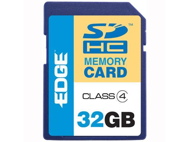 EDGE Tech 32GB Secure Digital High-Capacity (SDHC) Flash Card Model EDGDM-220617-PE