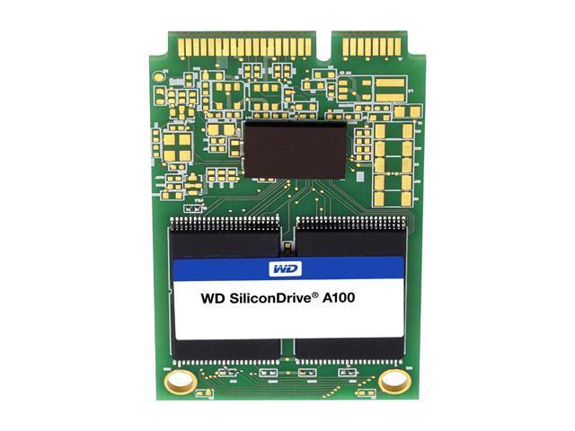 Western Digital SiliconDrive A100 16GB mSATA SATA II SLC Industrial Solid State Drive SSD-M0016SC-7100