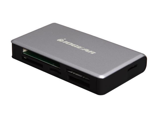 IOGEAR GFR281 USB 2.0 56-in-1Memory Card Reader / Writer