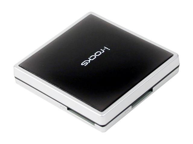 i-rocks IR-8100-BK 12-in-1 USB 2.0 Card Reader with 3-Port USB2.0 Hub