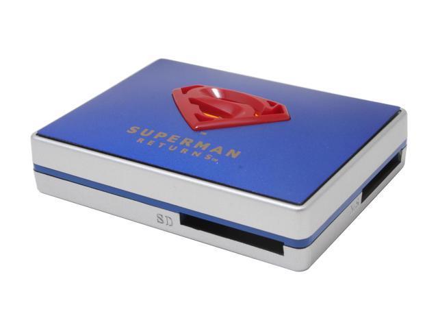 i-rocks Superman Returns SP-5000-BL USB 2.0 Card Reader
