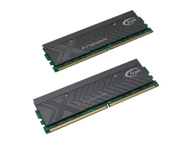 Team Xtreem 2GB (2 x 1GB) 240-Pin DDR2 SDRAM DDR2 800 (PC2 6400) Dual Channel Kit Desktop Memory Model TXDD2048M800HC4DC