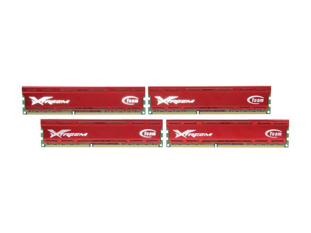 Team Vulcan 16GB (4 x 4GB) 240-Pin DDR3 SDRAM DDR3 1600 (PC3 12800) Desktop Memory Model TXD316G1600HC9QC-V