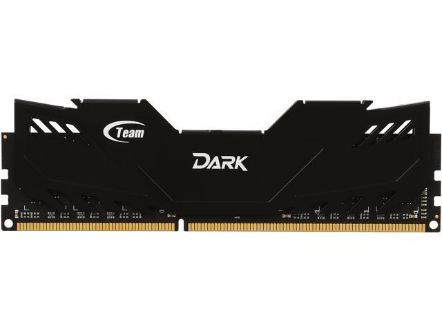 Team Dark 8GB 240-Pin DDR3 SDRAM DDR3 1600 (PC3 12800) Desktop Memory Model TDD38G1600HC901