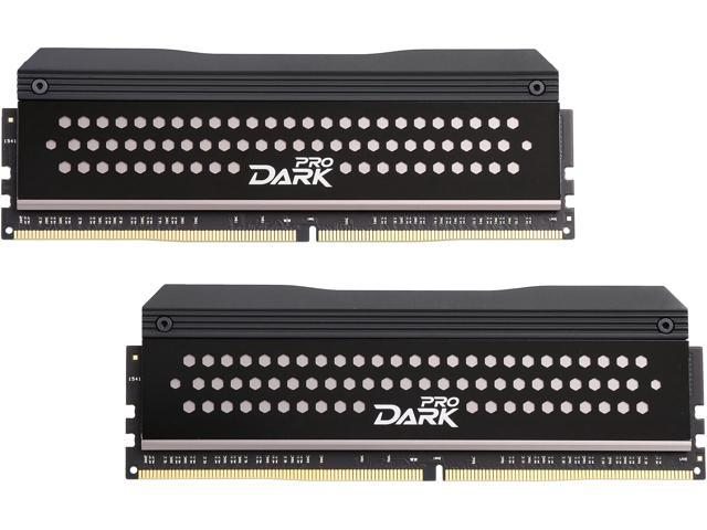 Team Dark Pro 16GB (2 x 8GB) 288-Pin DDR4 SDRAM DDR4 3000 (PC4 24000) Memory (Desktop Memory) Model TDPGD416G3000HC14ADC01