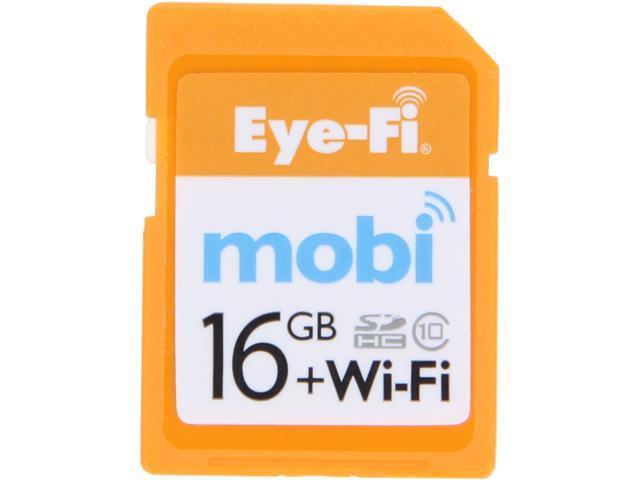 Eye-Fi 16GB Secure Digital High-Capacity (SDHC) Flash Card Model MOBI-16