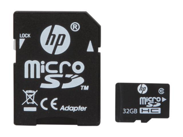 HP 32GB microSDHC Flash Card Model L1892A-EF