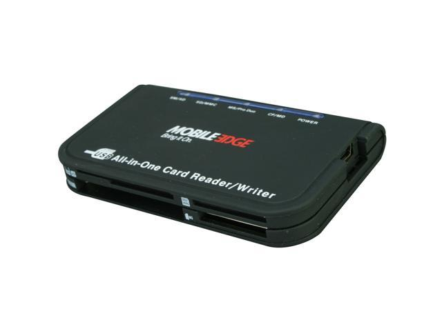 Mobile Edge MEACR2 All-in-one USB 2.0 Card Reader