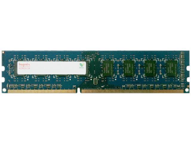 Hynix 2GB 240-Pin DDR3 SDRAM DDR3 1600 (PC3 12800) Desktop Memory Model HMT325U6EFR8C-PB
