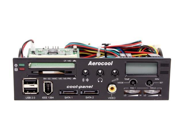 AeroCool 841269042154 8-in-1 USB 2.0 Card Reader and Writer