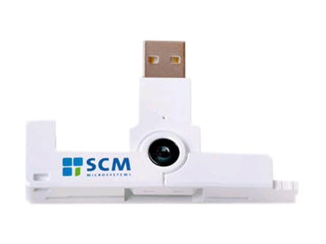 SCM SCR3500 USB 2.0 Portable ID1 Contact smart Card Reader