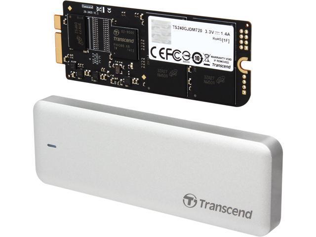 Transcend JetDrive 720 240GB USB 3.0 / SATA 6Gb/s MLC Internal / External Solid State Drive (SSD) TS240GJDM720