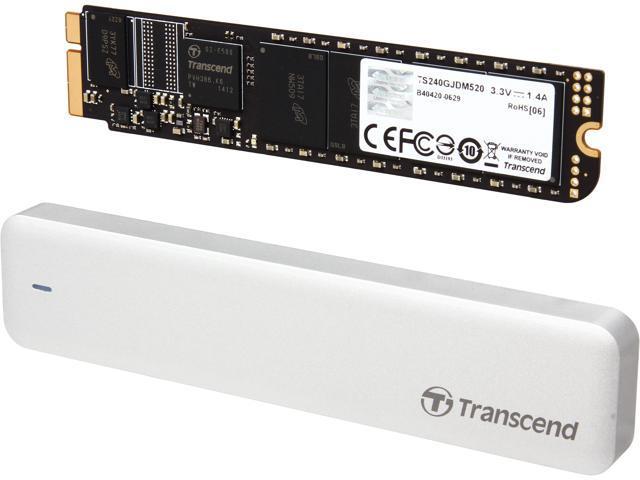 Transcend JetDrive 520 240GB USB 3.0 / SATA 6Gb/s MLC Internal / External Solid State Drive (SSD) TS240GJDM520