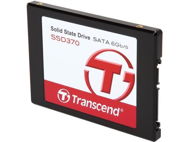 """Transcend 2.5"""" 256GB SATA III MLC Internal Solid State Drive (SSD) TS256GSSD370"""
