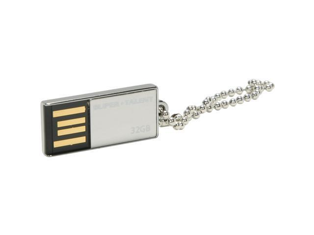 SUPER TALENT Pico_C 32GB USB 2.0 Flash Drive Model STU32GPCS