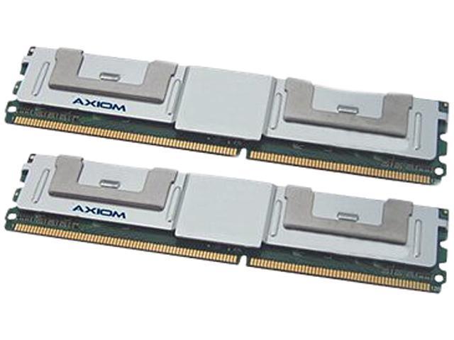 Axiom 8GB (2 x 4GB) 240-Pin DDR2 SDRAM ECC Fully Buffered DDR2 667 (PC2 5300) Supported Kit-for Ibm # 46C7420 Model 46C7420-AXA