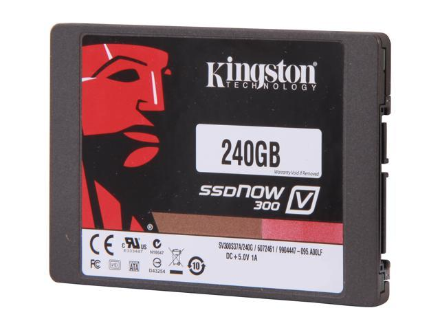 Kingston  SSDNow V300 Series  SV300S3D7/240G  2.5