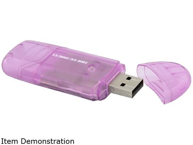INSTEN 1042785 USB 2.0 SD / MMC Memory Card Reader