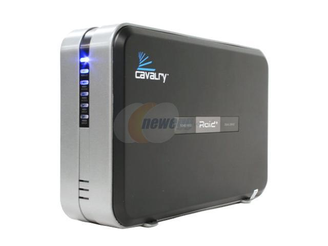 "Cavalry 2TB 7200 RPM 3.5"" USB 2.0 / Firewire400 / Firewire800 External Hard Drive (Preconfigured to RAID 1) Model CADA002C32A"