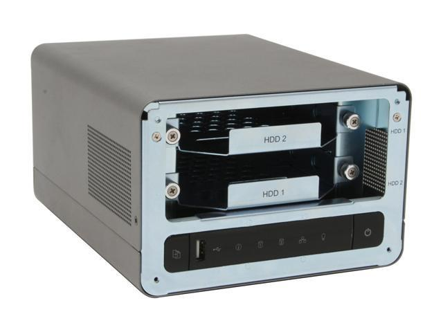 QNAP TS-201 2-Bay, RAID 1 Hot Swappable All-in-One NAS