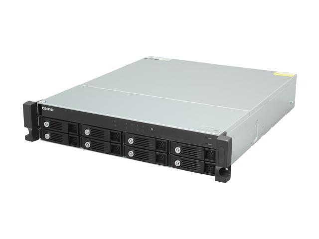 QNAP TS-869U-RP-US High-performance 8-bay NAS Server for SMBs