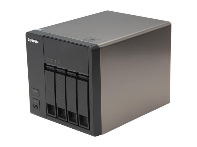 QNAP TS-469L-US Diskless System High-performance 4-bay NAS Server for SMBs