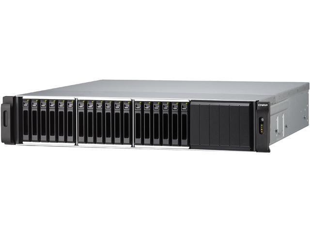 "QNAP SS-EC1879U-SAS-RP Diskless System 18-bay 2.5"" SAS/SATA-enabled Unified Storage"