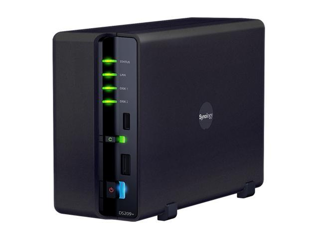 Synology DS209+ Diskless System Network Storage
