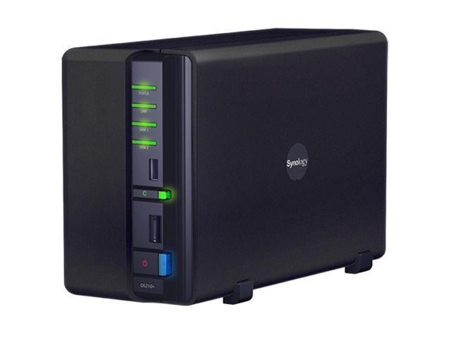 Synology DS210+ Diskless System DiskStation 2-bay All-in-1 NAS Server