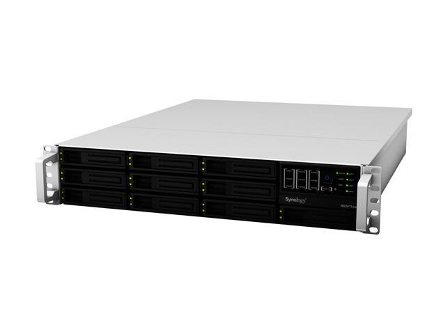 Synology RS3411xs Ultra-High performance NAS Server Scales up to 100TB for Large Scale Business