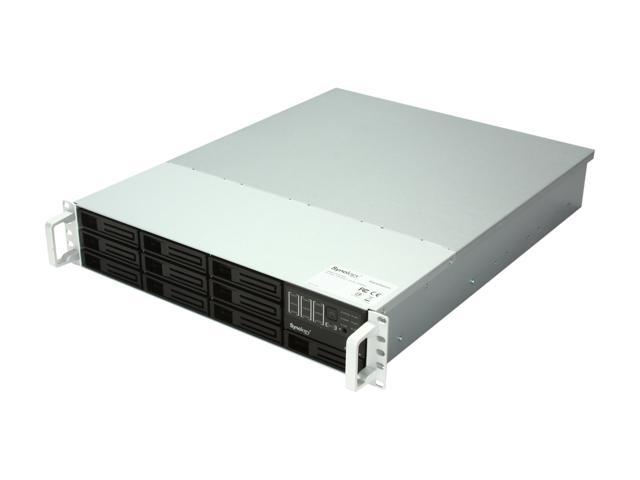 Synology RS3412xs RackStation - Ultra-High performance NAS Server Scales up to 100TB for Large Scale Business