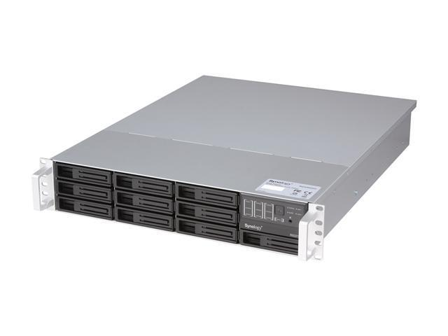 Synology RS2212+ Diskless System 2U High performance NAS Server Scales up to 22 Drives for Enterprise Users