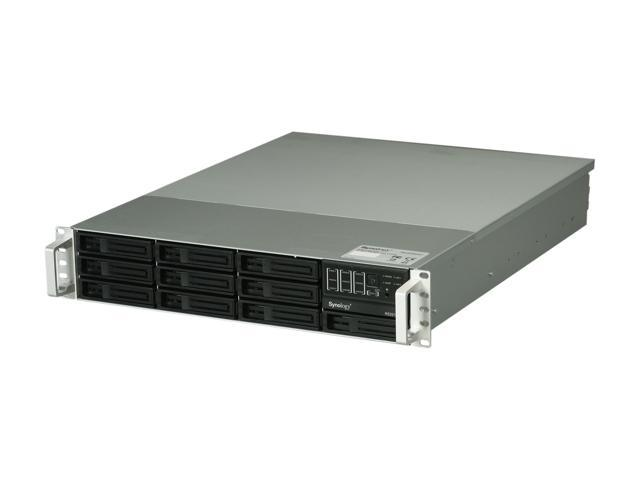 Synology RS2212RP+ Diskless System 2U High performance NAS Server Scales up to 22 Drives for Enterprise Users