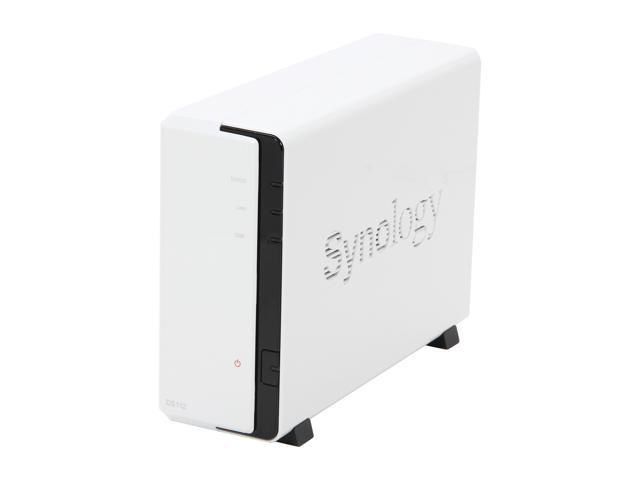 Synology DS112 Diskless System Feature-rich 1-bay NAS Server for Small Business & Workgroups