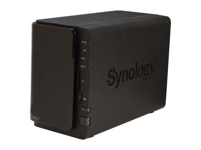 Synology DS213 Diskless System DiskStation - Simple Set-Up, Easy Efficiency
