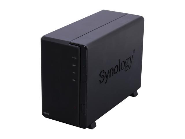 Synology DX213 Diskless System Expansion Unit for Increasing Capacity of the Synology DiskStation