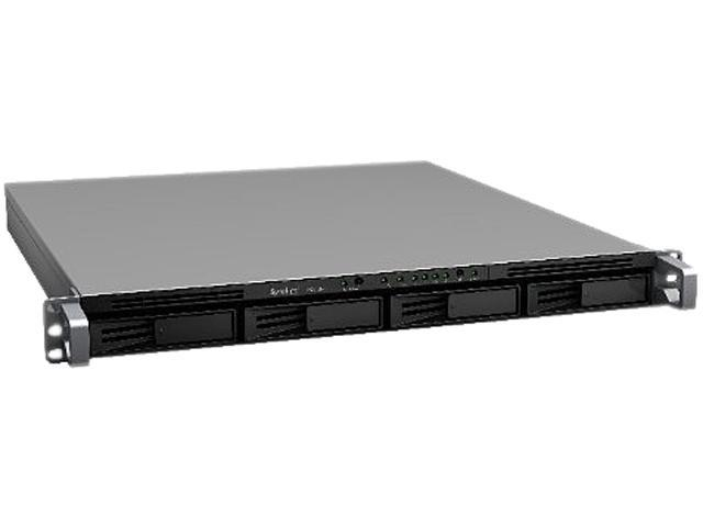 Synology RS812RP+ 4300 High-performance & Scalable 4-bay Rackmounted NAS Server for SMB Users