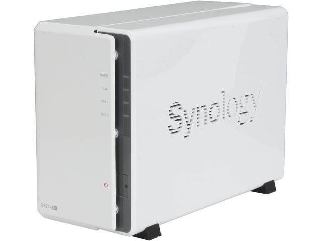 Synology DiskStation DS214se Diskless System Network Storage - Retail