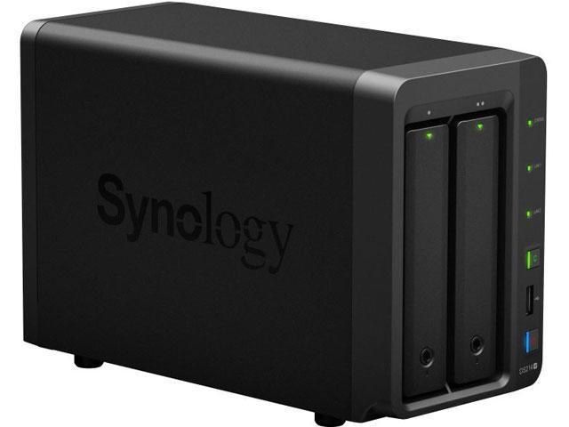 Synology DiskStation 2-Bay (2X 3TB NAS Drives) Network Attached Storage (NAS) DS214+ 2300