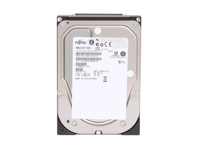 "Fujitsu MBA3073NC 73.5GB 15000 RPM 8MB Cache SCSI Ultra320 80pin 3.5"" Internal Hard Drive Bare Drive"