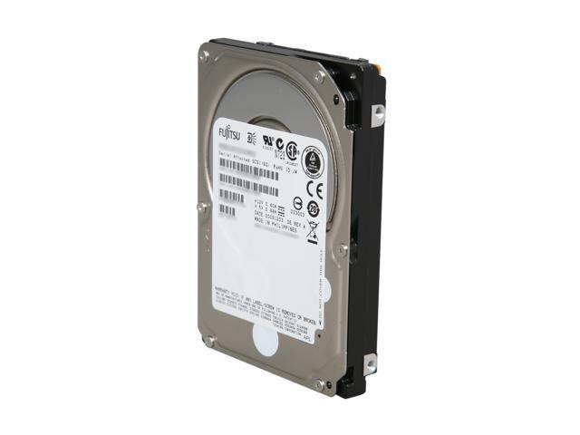 "Fujitsu MBD2300RC 300GB 10000 RPM 16MB Cache SAS 6Gb/s 2.5"" Enterprise Hard Drive Bare Drive"