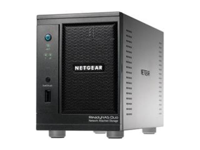 NETGEAR RND2220-100NAS ReadyNAS Duo Network Attached Storage Device