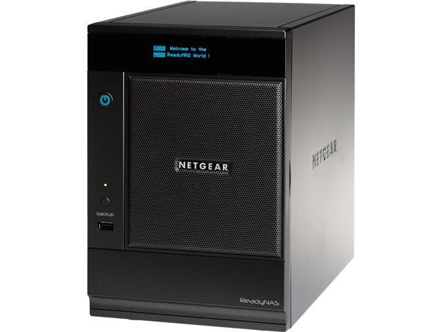 NETGEAR RNDP6620-200NAS 12TB (6x2TB) Unified ReadyNAS Pro 6 Network Storage for Business with iSCSI