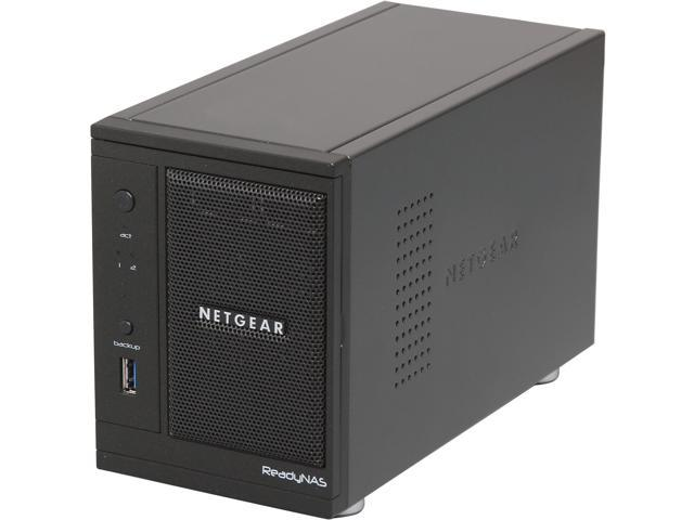 NETGEAR ReadyNAS Pro 2 (RNDP2000-100NAS) Diskless System Network Storge for Business