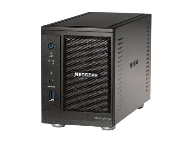 NETGEAR RNDP2230-100NAS 3TB x 2 ReadyNAS Pro 2 2-bay unified Network Storage for Business with 2 x 3TB HDD