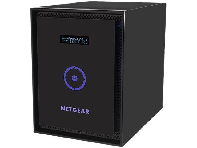 NETGEAR ReadyNAS 516 6-Bay 6TB (6 x 1TB) Enterprise Network Attached Storage (RN51661E)
